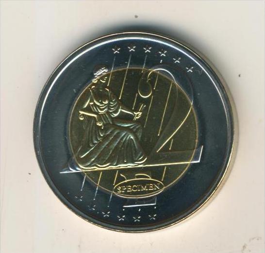 Schweiz v. 2006  2 Euro Entwurf Schweiz  (40418)