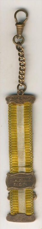 Studentischer Bierzipfel, datiert 1901,Gold-333  (1)