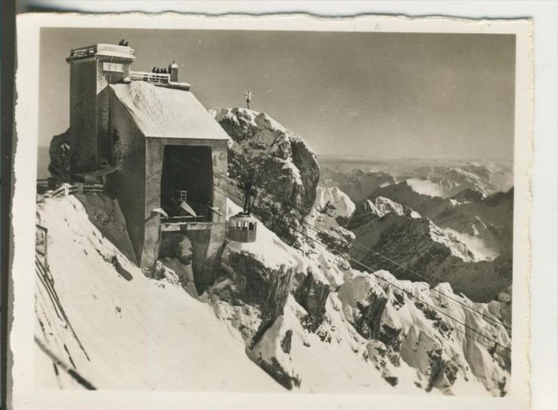 Zugspitze v. 1938  Bergstation an der Zugspitze  (43253) 0