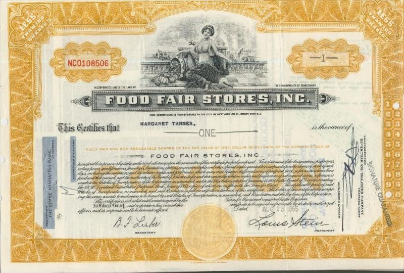 Food Fair Stores, Inc. von 1955   (44000)
