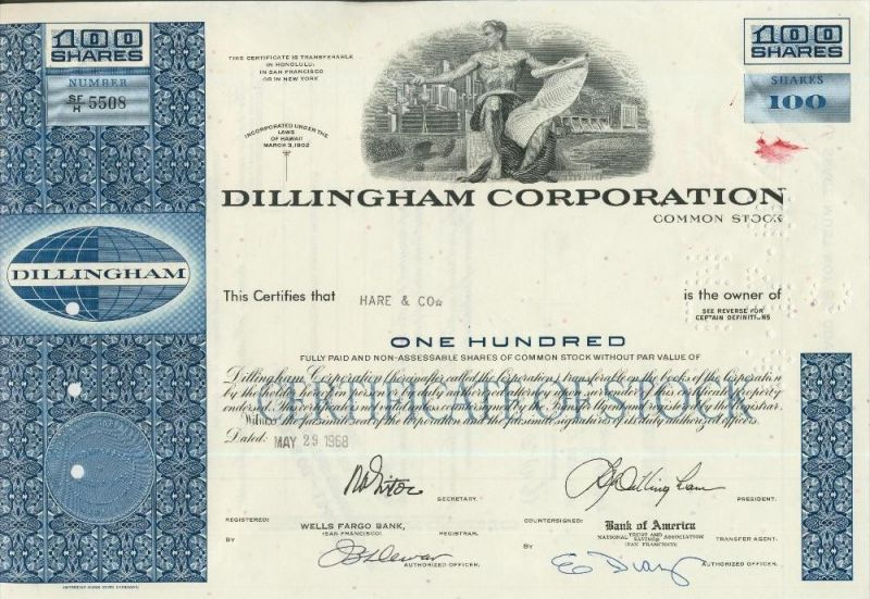 Dillingham Corporation  (44021)