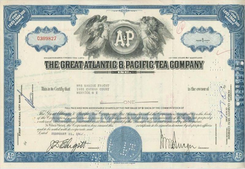 The Great Atlantic & Pacifig Tea Company  44031)