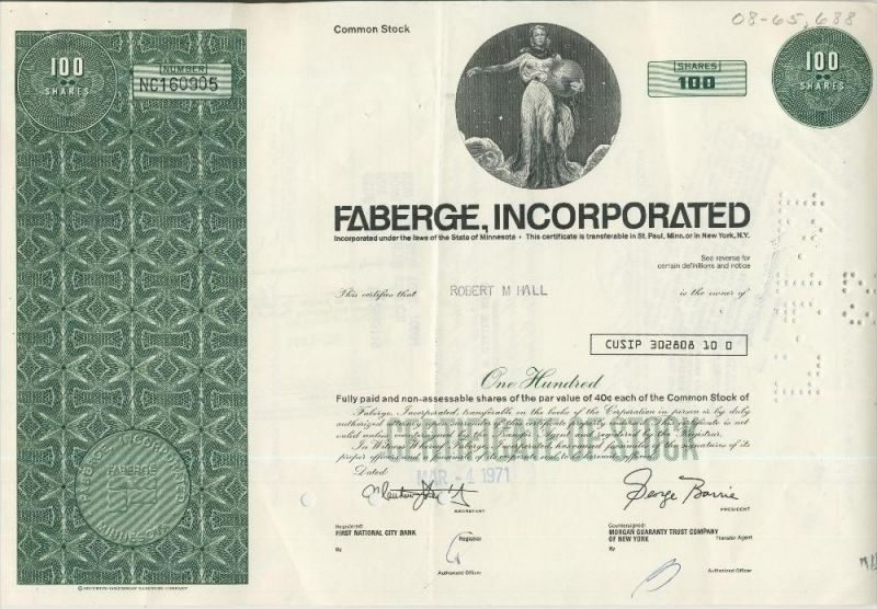 Faberge Incorporated  (44032)