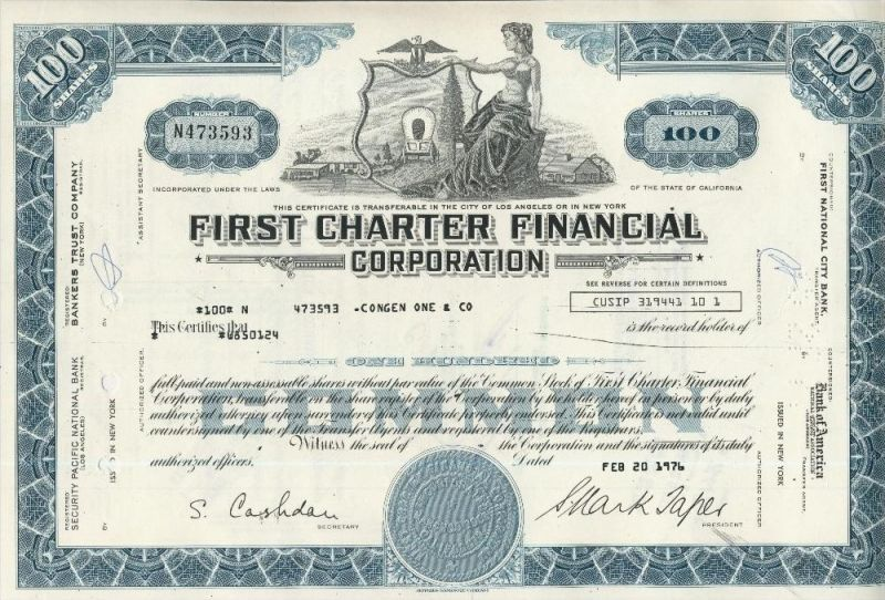 First Charter Financial Corporation  (44034)