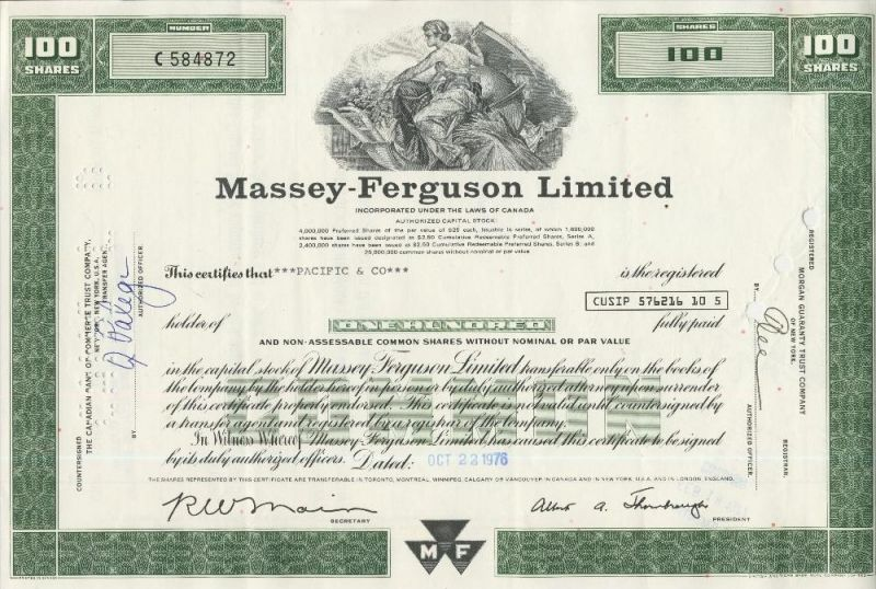 Massey Ferguson Limited  (44035)