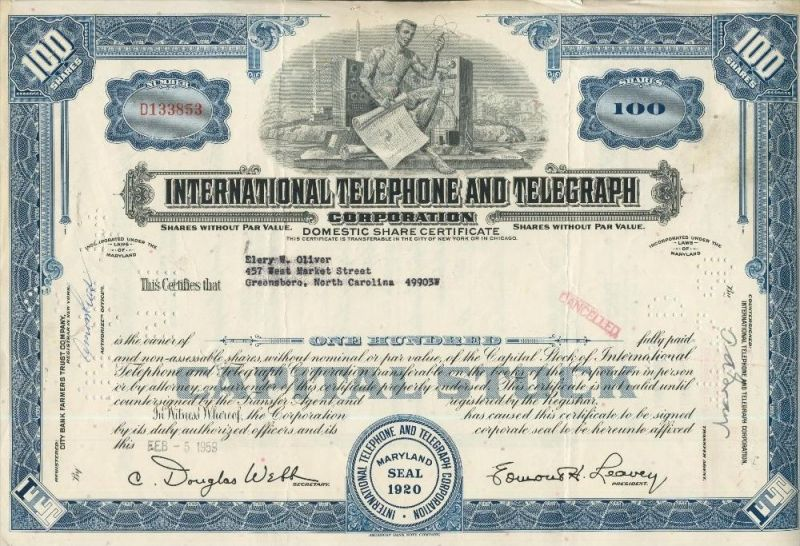 International Telephone and Telegraph  (44036)