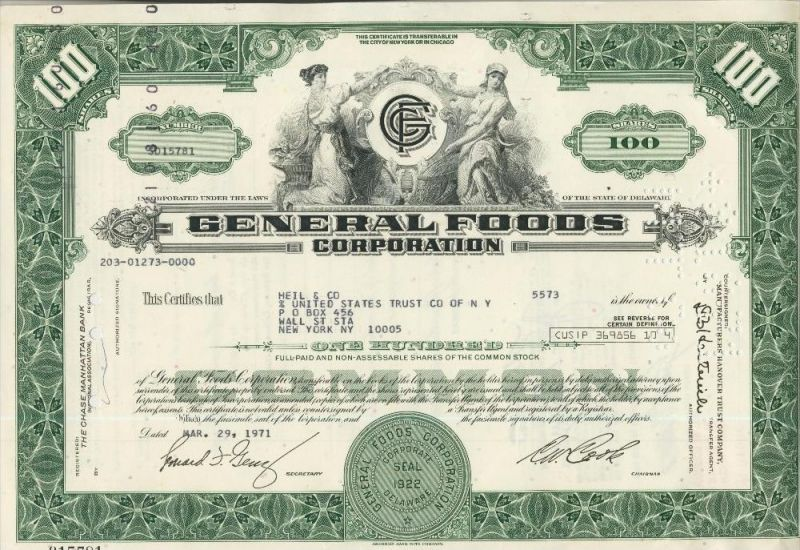 General Foods Corporation  (44038)