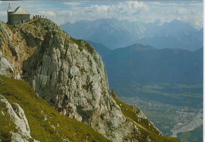 Villacher Alpe v. 1986  Gipfel mit Schloßkirche (45111)