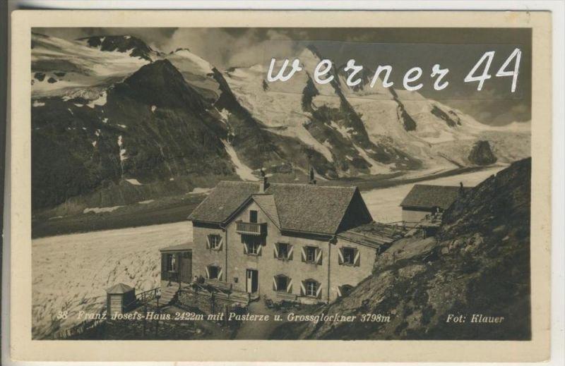 Heiligenblutv.1930 Glocknerhaus auf der Elisabethruhe 2143 m  (8354)