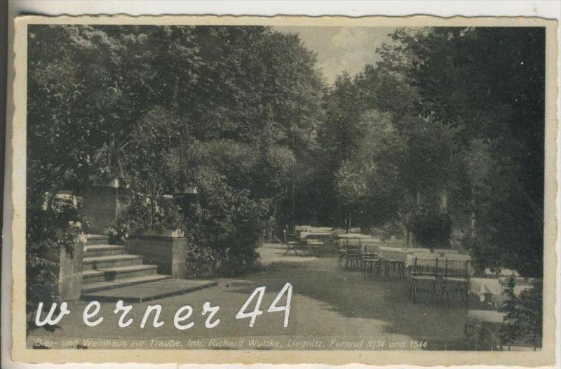 Liegnitz v. 1941 Bier und Weinhaus zur Taube, Inh. Richard Wuttke  (15499)