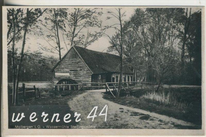 Molbergen i. O.  v.1939 Wassermühle - Stedingsmühle (15501)