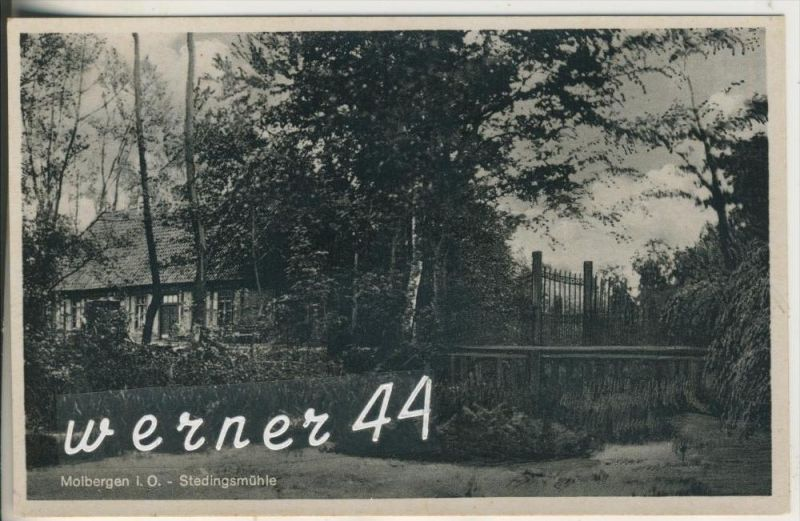 Molbergen i. O.  v.1939 Wassermühle - Stedingsmühle (15502)