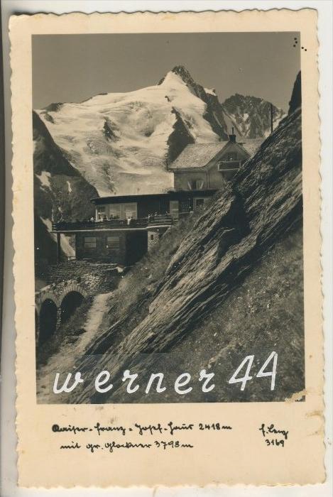 Heiligenblut v.1938 Hotel Franrz Josef Haus  (16067)