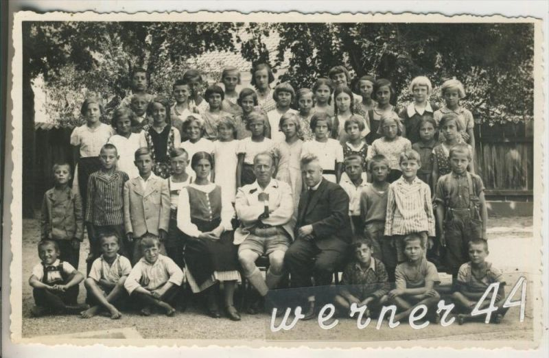 Unter-Premstätten v.1926 Lehrer & Schüler.(18086) 0