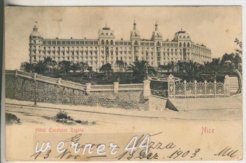 Nice v.1903 Hotel Excelsior Regina (18936) 0