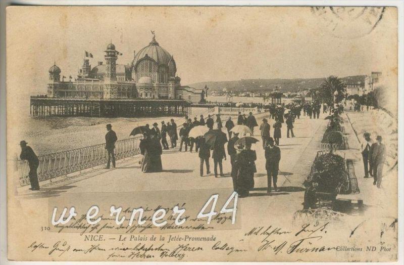 Nice v.1903 Le Palais de la Jetee Promenade (18937) 0
