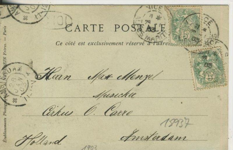 Nice v.1903 Le Palais de la Jetee Promenade (18937) 1