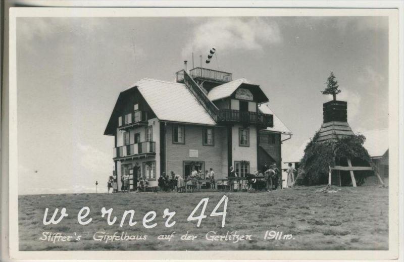 Görlitzen v.1953 Stifters Gipfelhaus,Inh. Franz Galler  (20958)