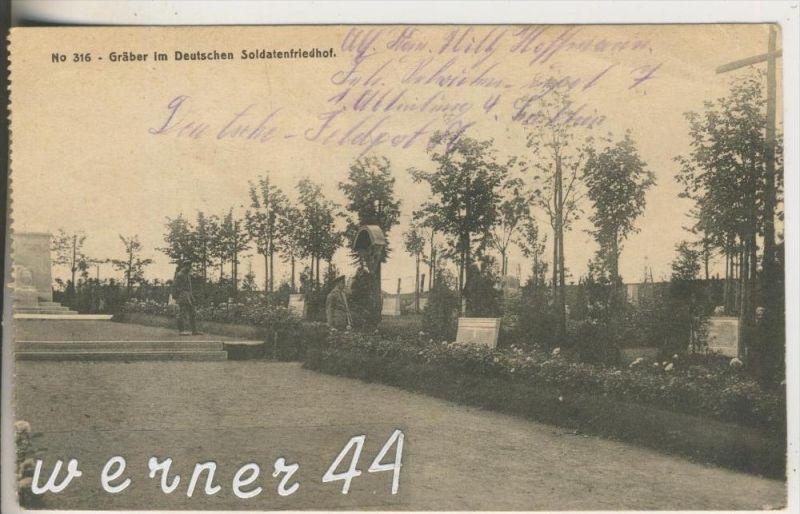 Gräber im Deutschen Soldatenfriedhof von 1918 (21818)