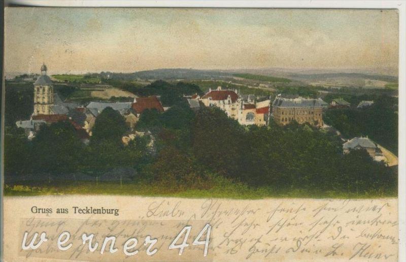 Gruss aus Tecklenburg v. 1904 Dorfansicht (23324-23)