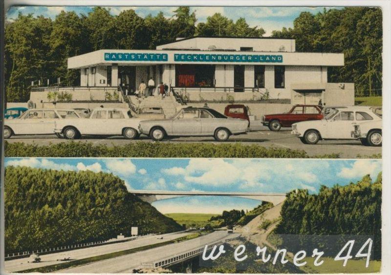 Leeden v. 1962 Autobahn - Raststätte
