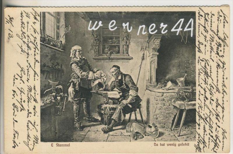 Schmied für Ritter-Rüstungen v. 1913  (35314a)