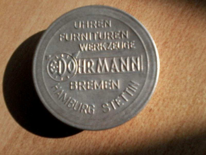 Edo Hermann - Bremen-Hamburg-Stettin v. 1926  Uhren ,Furnituren ,Werkzeuge    (3)