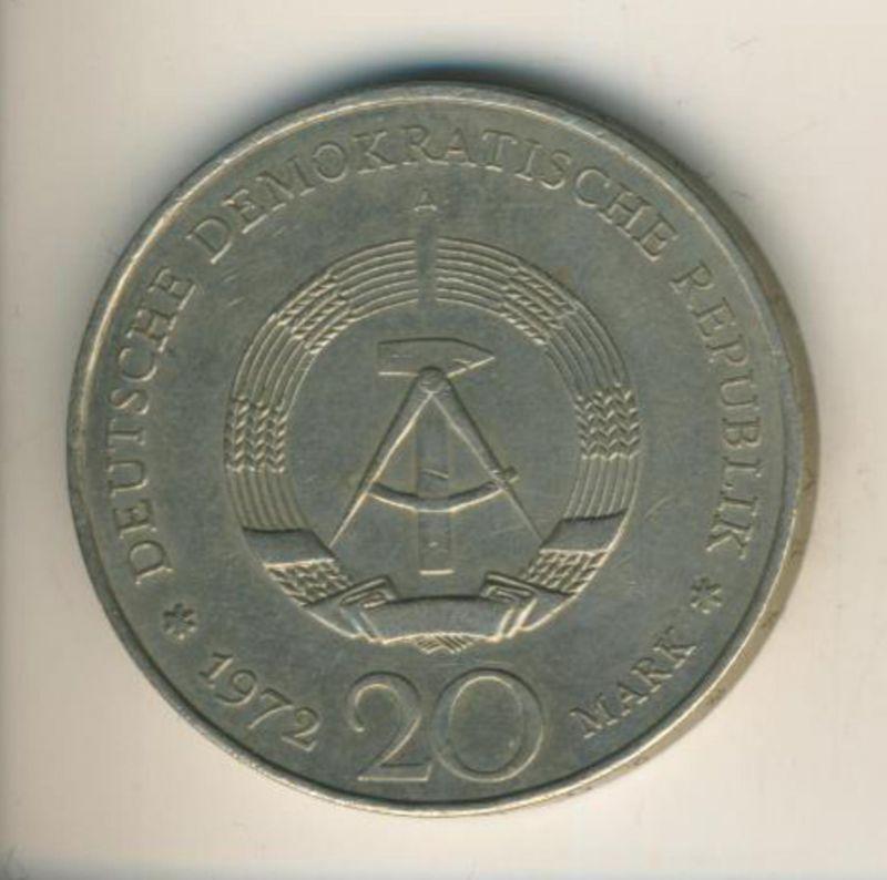 DDR v. 1972  20 Mark  (49013)