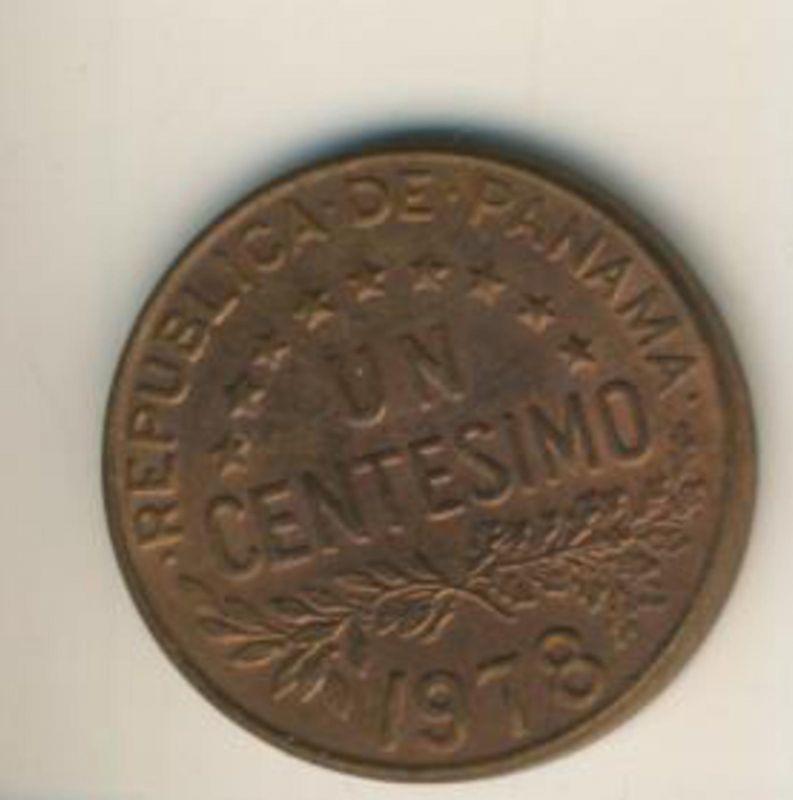 Panama v. 1978  1 Centesimo  (49152)