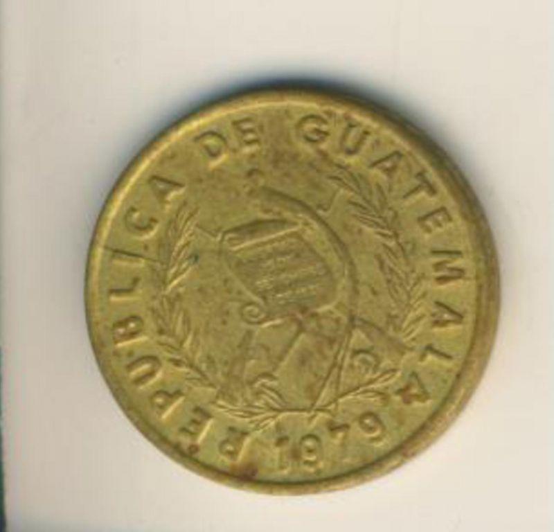 Guatemala v. 1979  1 Centavo  (49153)