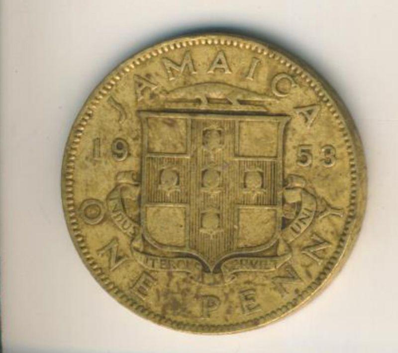 Jamaica v. 1953  One Penny  (49159)