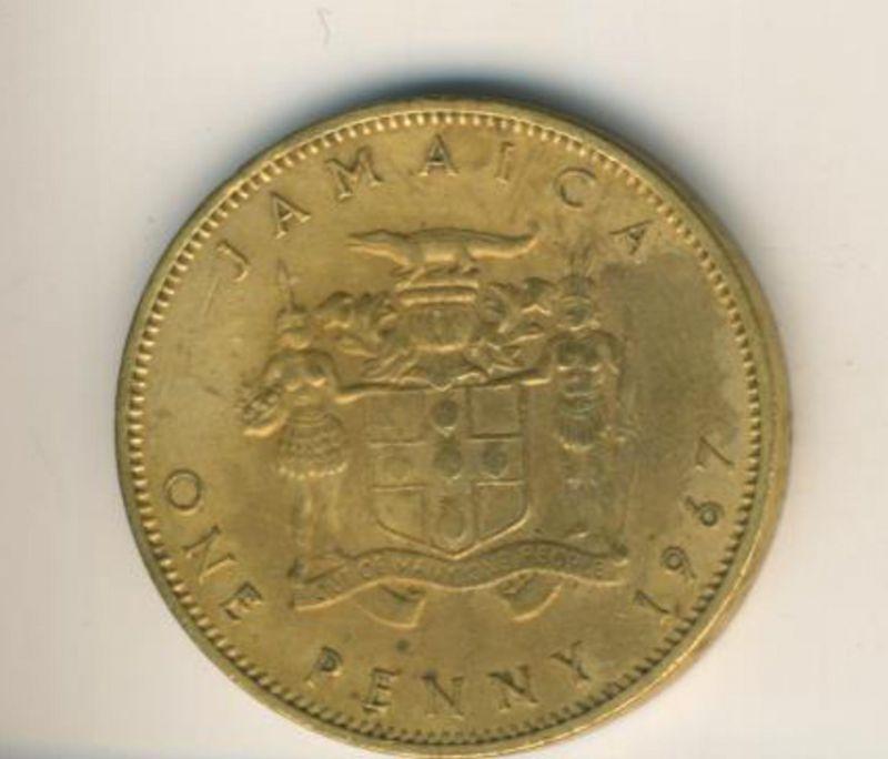 Jamaica v. 1967  One Penny  (49158)
