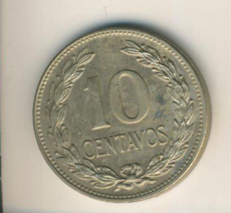 Salvador v. 1977  10 Centavos  (49157)