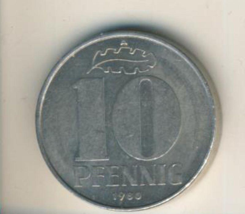 DDR v. 1980  10 Pfennig  (49164)
