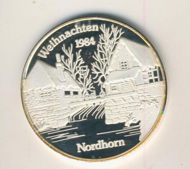 Nordhorn v. 1984  Weihnachten-Alte Wassermühle  (NOH-3)