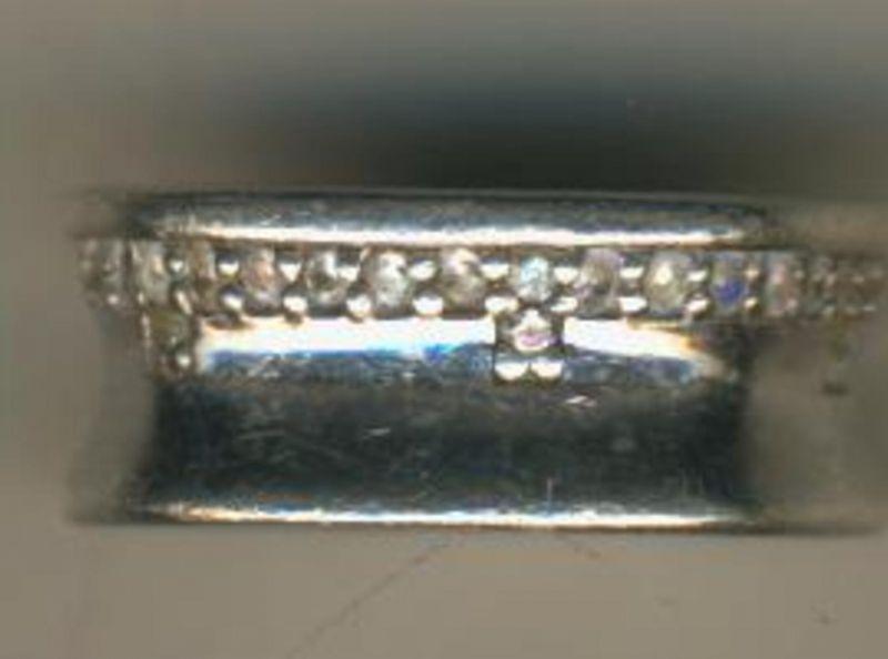 Silber - Damenring  (DA.1)