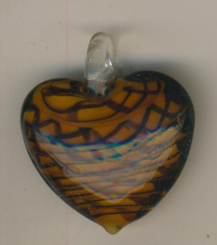 Herzform als Anhänger (Herz)