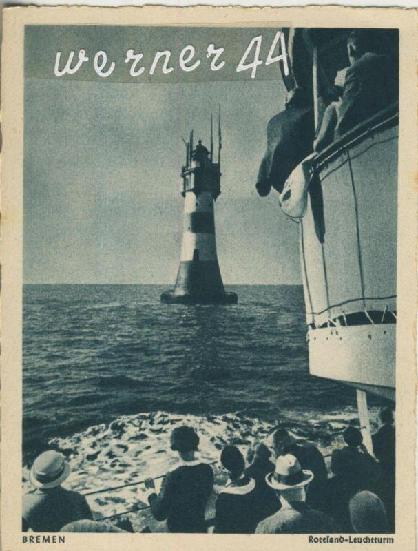 Bremen v. 1928  Rotesand-Leuchtturm  (49912)