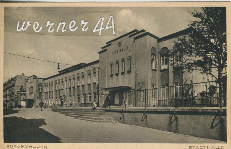Bremerhaven v. 1926  Die Stadthalle (49914)