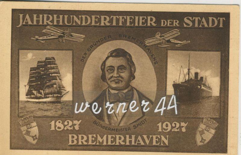 Bremerhaven v. 1927  Jahrhundertfeier der Stadt (49915)