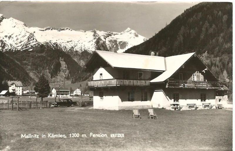 Mallnitz v. 1959  Pension Kritzer  (50559)