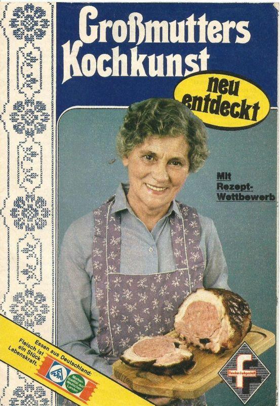 Fleischer Fachgeschäft v. 1981  Großmutters Kochkunst (51020)