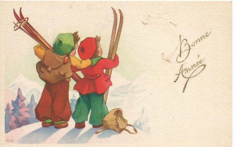 Ski fahren v. 1923 (50842)