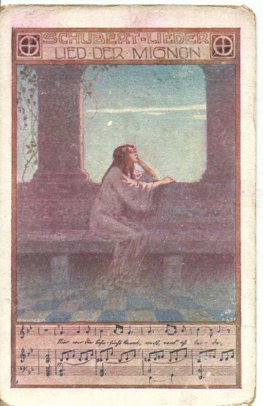 Schubert Lieder v. 1924  Lied der Mignon  (50863)