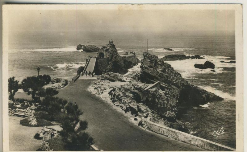 Biarritz v. 1936  Pyrenees Ocean (50943)