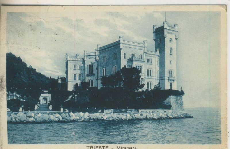 Trieste v. 1929  Miramare  (50948)