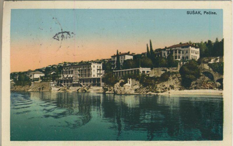 Susak v. 1929  Palace Prve hrvatske stedionice (50949)