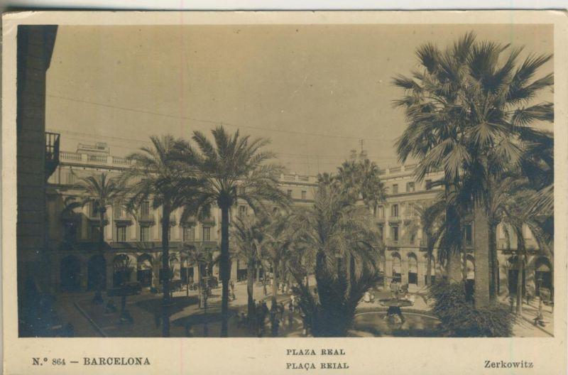 Barcelona v. 1926  Placa Real (50953)