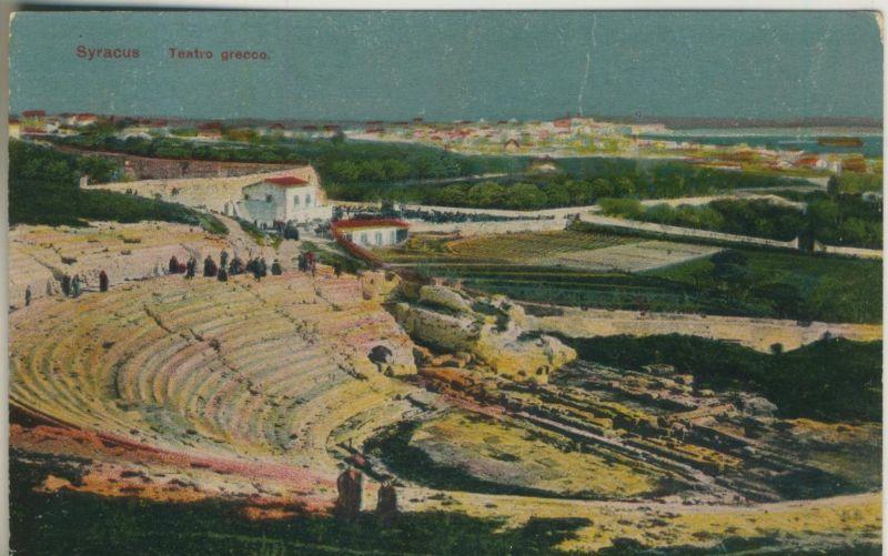 Syrakus v. 1928  Teatro grecco  (50954)