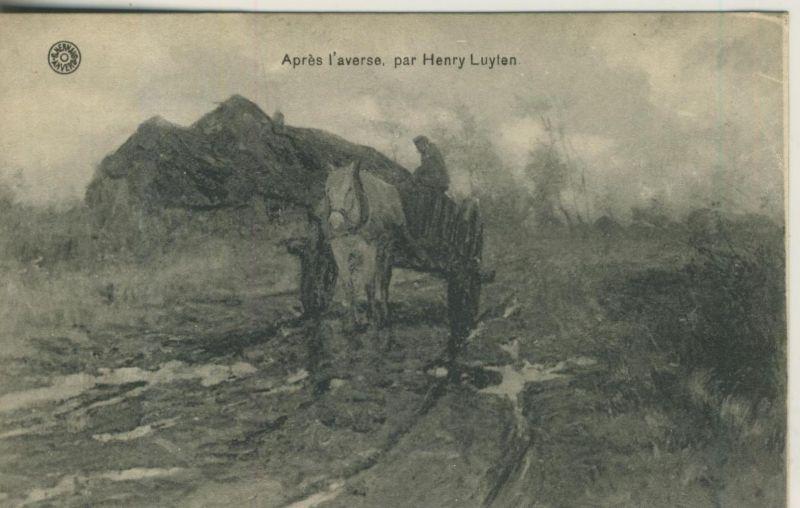 Apres l`àverse par Henry Luylan v. 1930  (50956)